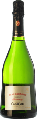 14,95 € Free Shipping | White sparkling Gran Codorníu Reserva D.O. Cava Catalonia Spain Chardonnay Bottle 75 cl | Thousands of wine lovers trust us to get the best price guarantee, free shipping always and hassle-free shopping and returns.