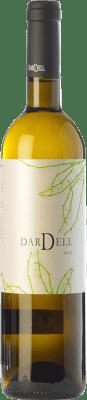 6,95 € Free Shipping | White wine Coma d'en Bonet Dardell Blanc D.O. Terra Alta Catalonia Spain Grenache White, Viognier Bottle 75 cl