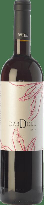 6,95 € Free Shipping | Red wine Coma d'en Bonet Dardell Negre Joven D.O. Terra Alta Catalonia Spain Syrah, Grenache Bottle 75 cl