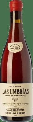 Rotwein Comando G Las Umbrías Crianza D.O. Vinos de Madrid Gemeinschaft von Madrid Spanien Grenache Flasche 75 cl