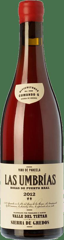 Red wine Comando G Las Umbrías Crianza D.O. Vinos de Madrid Madrid's community Spain Grenache Bottle 75 cl