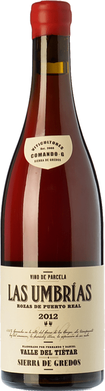 Vin rouge Comando G Las Umbrías Crianza D.O. Vinos de Madrid La communauté de Madrid Espagne Grenache Bouteille 75 cl