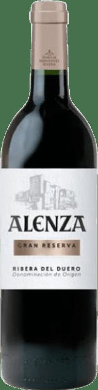 43,95 € Envío gratis | Vino tinto Condado de Haza Alenza Gran Reserva D.O. Ribera del Duero Castilla y León España Tempranillo Botella 75 cl