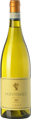 48,95 € Free Shipping | White wine Coppo Monteriolo D.O.C. Piedmont Piemonte Italy Chardonnay Bottle 75 cl