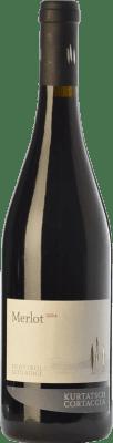 14,95 € Free Shipping | Red wine Cortaccia D.O.C. Alto Adige Trentino-Alto Adige Italy Merlot Bottle 75 cl