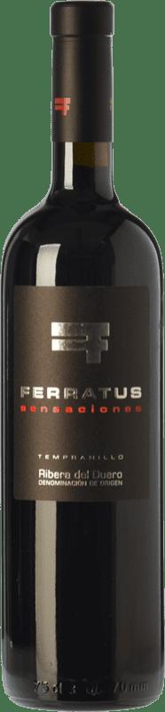 27,95 € Free Shipping | Red wine Cuevas Jiménez Ferratus Sensaciones Crianza D.O. Ribera del Duero Castilla y León Spain Tempranillo Bottle 75 cl
