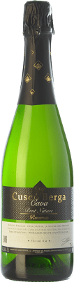 7,95 € Free Shipping | White sparkling Cuscó Berga Brut Nature Reserva D.O. Cava Catalonia Spain Macabeo, Xarel·lo, Parellada Bottle 75 cl. | Thousands of wine lovers trust us to get the best price guarantee, free shipping always and hassle-free shopping and returns.
