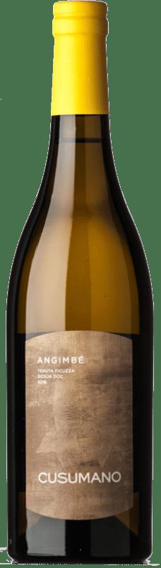 14,95 € Free Shipping | White wine Cusumano Angimbé I.G.T. Terre Siciliane Sicily Italy Chardonnay, Insolia Bottle 75 cl