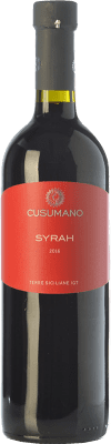 12,95 € Free Shipping | Red wine Cusumano I.G.T. Terre Siciliane Sicily Italy Syrah Bottle 75 cl