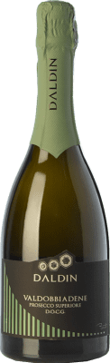 13,95 € Free Shipping | White sparkling DalDin Brut D.O.C.G. Prosecco di Conegliano-Valdobbiadene Treviso Italy Glera Bottle 75 cl | Thousands of wine lovers trust us to get the best price guarantee, free shipping always and hassle-free shopping and returns.