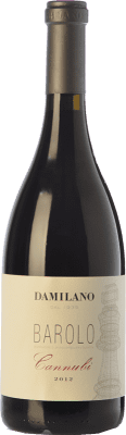 109,95 € Free Shipping | Red wine Damilano Cannubi D.O.C.G. Barolo Piemonte Italy Nebbiolo Bottle 75 cl