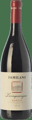 43,95 € Free Shipping | Red wine Damilano Le Cinque Vigne D.O.C.G. Barolo Piemonte Italy Nebbiolo Bottle 75 cl