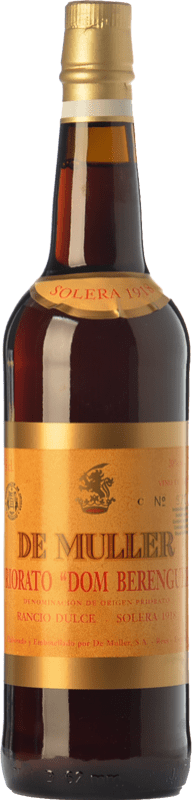 45,95 € Free Shipping | Sweet wine De Muller Dom Berenguer Solera 1918 D.O.Ca. Priorat Catalonia Spain Grenache, Grenache White, Muscat of Alexandria Bottle 75 cl