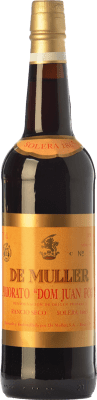 43,95 € Envío gratis | Vino generoso De Muller Dom Juan Fort Solera 1865 D.O.Ca. Priorat Cataluña España Garnacha, Garnacha Blanca, Moscatel de Alejandría Botella 75 cl