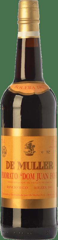 43,95 € Envoi gratuit   Vin fortifié De Muller Dom Juan Fort Solera 1865 D.O.Ca. Priorat Catalogne Espagne Grenache, Grenache Blanc, Muscat d'Alexandrie Bouteille 75 cl