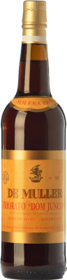 44,95 € Free Shipping | Fortified wine De Muller Dom Juncosa Solera 1939 D.O.Ca. Priorat Catalonia Spain Grenache, Grenache White, Muscat of Alexandria Bottle 75 cl