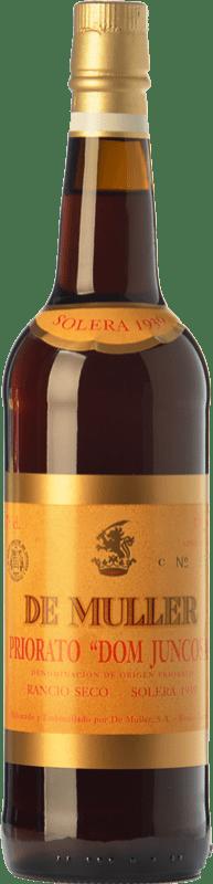 34,95 € Free Shipping | Fortified wine De Muller Dom Juncosa Solera 1939 D.O.Ca. Priorat Catalonia Spain Grenache, Grenache White, Muscat of Alexandria Bottle 75 cl