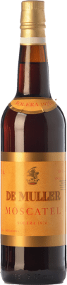 47,95 € Free Shipping | Sweet wine De Muller Moscatel Solera 1926 D.O. Tarragona Catalonia Spain Muscat of Alexandria Bottle 75 cl
