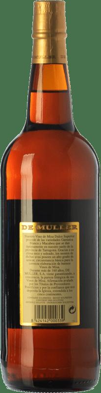7,95 € Free Shipping   Sweet wine De Muller Vino de Misa D.O. Terra Alta Catalonia Spain Grenache White, Macabeo Missile Bottle 1 L