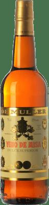 6,95 € Kostenloser Versand   Süßer Wein De Muller Vino de Misa D.O. Terra Alta Katalonien Spanien Grenache Weiß, Macabeo Flasche 75 cl