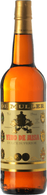 6,95 € Free Shipping | Sweet wine De Muller Vino de Misa D.O. Terra Alta Catalonia Spain Grenache White, Macabeo Bottle 75 cl