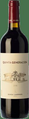 12,95 € Envío gratis | Vino tinto Dehesa de los Canónigos Quinta Generación Joven D.O. Ribera del Duero Castilla y León España Tempranillo Botella 75 cl