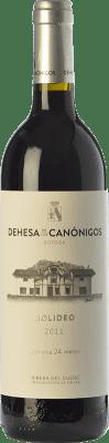 44,95 € Free Shipping | Red wine Dehesa de los Canónigos Solideo 24 Meses Reserva D.O. Ribera del Duero Castilla y León Spain Tempranillo, Cabernet Sauvignon, Albillo Bottle 75 cl