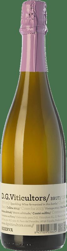 14,95 € Free Shipping | White sparkling DG Brut Reserva D.O. Penedès Catalonia Spain Chardonnay Bottle 75 cl