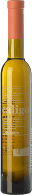35,95 € Free Shipping | Sweet wine DG Caligo Vi de Boira D.O. Penedès Catalonia Spain Chardonnay Half Bottle 37 cl