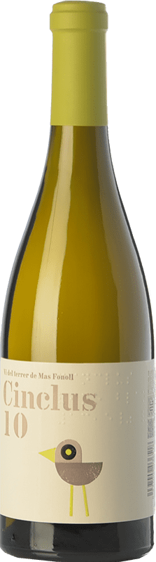 12,95 € Free Shipping | White wine DG Cinclus Crianza 2010 D.O. Penedès Catalonia Spain Albariño, Incroccio Manzoni Bottle 75 cl