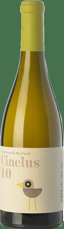 9,95 € Free Shipping | White wine DG Cinclus Crianza D.O. Penedès Catalonia Spain Albariño, Incroccio Manzoni Bottle 75 cl