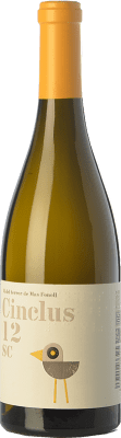 12,95 € Free Shipping | White wine DG Cinclus SC Crianza D.O. Penedès Catalonia Spain Loureiro, Albariño, Incroccio Manzoni Bottle 75 cl