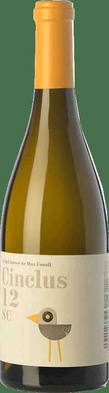 12,95 € Envio grátis | Vinho branco DG Cinclus SC Crianza D.O. Penedès Catalunha Espanha Loureiro, Albariño, Incroccio Manzoni Garrafa 75 cl