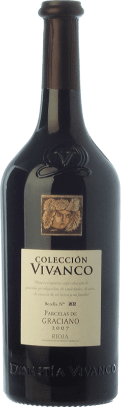 52,95 € Free Shipping | Red wine Vivanco Colección Parcelas Crianza 2008 D.O.Ca. Rioja The Rioja Spain Graciano Bottle 75 cl