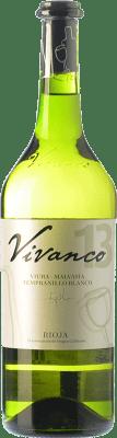 7,95 € Envío gratis | Vino blanco Vivanco D.O.Ca. Rioja La Rioja España Viura, Malvasía, Tempranillo Blanco Botella 75 cl