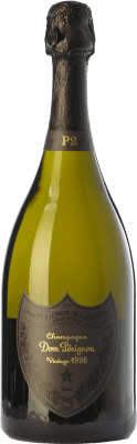 399,95 € Free Shipping | White sparkling Moët & Chandon Dom Pérignon Blanc P2 1998 A.O.C. Champagne Champagne France Pinot Black, Chardonnay Bottle 75 cl. | Thousands of wine lovers trust us to get the best price guarantee, free shipping always and hassle-free shopping and returns.