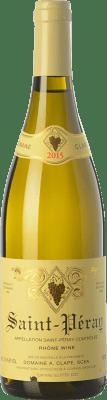 62,95 € Free Shipping | White wine Auguste Clape Crianza A.O.C. Saint-Péray Rhône France Marsanne Bottle 75 cl