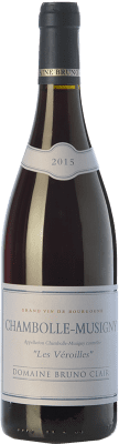 84,95 € Free Shipping | Red wine Bruno Clair Chambolle-Musigny Les Veroilles Crianza A.O.C. Bourgogne Burgundy France Pinot Black Bottle 75 cl