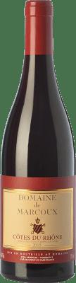 15,95 € Envío gratis | Vino tinto Domaine de Marcoux Crianza A.O.C. Côtes du Rhône Rhône Francia Garnacha Botella 75 cl