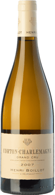 172,95 € Free Shipping | White wine Domaine Henri Boillot Grand Cru Crianza 2010 A.O.C. Corton-Charlemagne Burgundy France Chardonnay Bottle 75 cl
