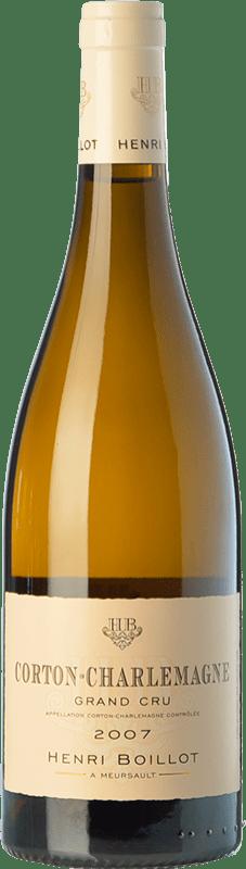 166,95 € Free Shipping | White wine Domaine Henri Boillot Grand Cru Crianza 2010 A.O.C. Corton-Charlemagne Burgundy France Chardonnay Bottle 75 cl