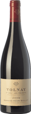 96,95 € Free Shipping | Red wine Domaine Henri Boillot Premier Cru Fremiets Crianza 2009 A.O.C. Volnay Burgundy France Pinot Black Bottle 75 cl
