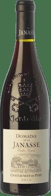 79,95 € Kostenloser Versand | Rotwein Domaine La Janasse Vieilles Vignes Crianza A.O.C. Châteauneuf-du-Pape Rhône Frankreich Syrah, Grenache, Mourvèdre Flasche 75 cl