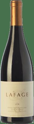 23,95 € Envoi gratuit | Vin rouge Domaine Lafage Cuvée Léa Crianza A.O.C. Côtes du Roussillon Languedoc-Roussillon France Syrah, Grenache, Carignan Bouteille 75 cl