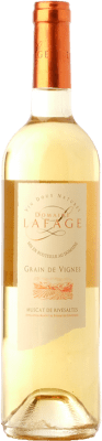 22,95 € Free Shipping | Sweet wine Domaine Lafage Grain de Vignes A.O.C. Muscat de Rivesaltes Languedoc-Roussillon France Muscat of Alexandria, Muscatel Small Grain Bottle 75 cl