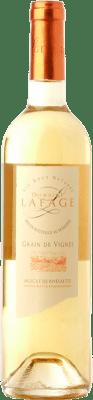 18,95 € Envío gratis | Vino dulce Domaine Lafage Grain de Vignes A.O.C. Muscat de Rivesaltes Languedoc-Roussillon Francia Moscatel de Alejandría, Moscatel Grano Menudo Botella 75 cl