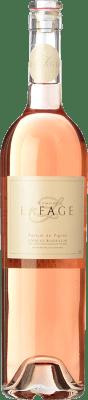 11,95 € Kostenloser Versand | Rosé-Wein Domaine Lafage Parfum de Vignes A.O.C. Côtes du Roussillon Languedoc-Roussillon Frankreich Syrah, Grenache, Carignan Flasche 75 cl