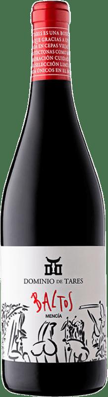 6,95 € Free Shipping | Red wine Dominio de Tares Baltos Joven D.O. Bierzo Castilla y León Spain Mencía Bottle 75 cl