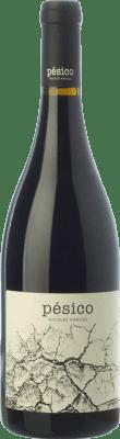 19,95 € Free Shipping | Red wine Dominio del Urogallo Pésico Crianza Spain Mencía, Verdejo Black, Carrasquín, Albarín Black Bottle 75 cl