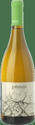 24,95 € Free Shipping | White wine Dominio del Urogallo Pésico Crianza Spain Albarín Bottle 75 cl